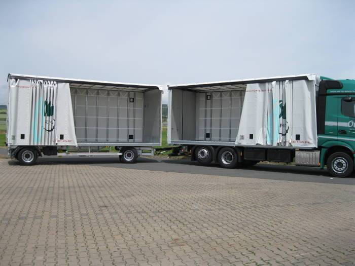 QCS QCS truck and trailer combination